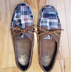 BROOKS BROTHER PLAID SHOES